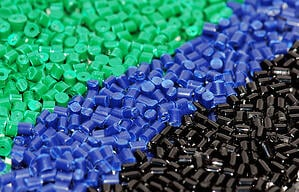 High heat plastic material