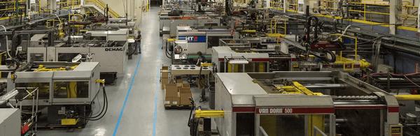 Inside the manufacturing facility of Syracuse Plastics of North Carolina, Inc.