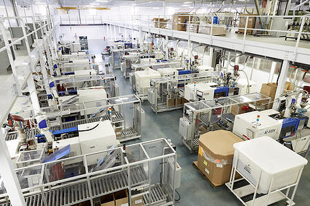 PCI's lights out manufacturing facility, Bunsen