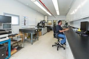 Syracuse Plastics of North Carolina quality assurance lab