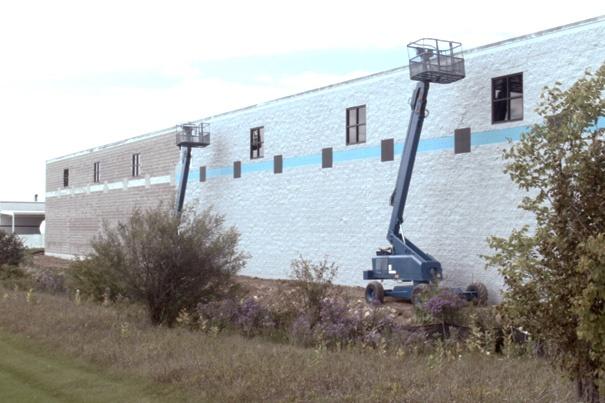 Bunsen Construction Exterior Progress